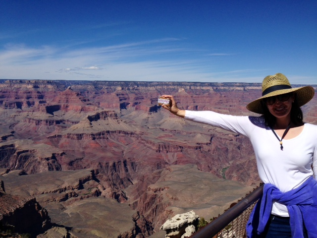 """Our newest flavor,""""For Love and Honey,"""" makes it to the Grand Canyon! Thank you Megan from Houston, TX for both of these photos!!"""