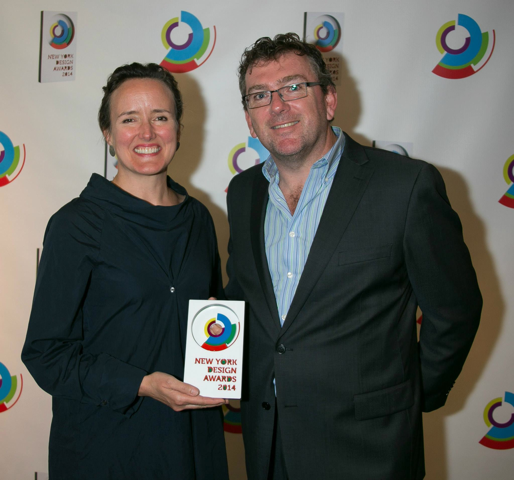 Victoria Milne receives New York Design Award, 2014