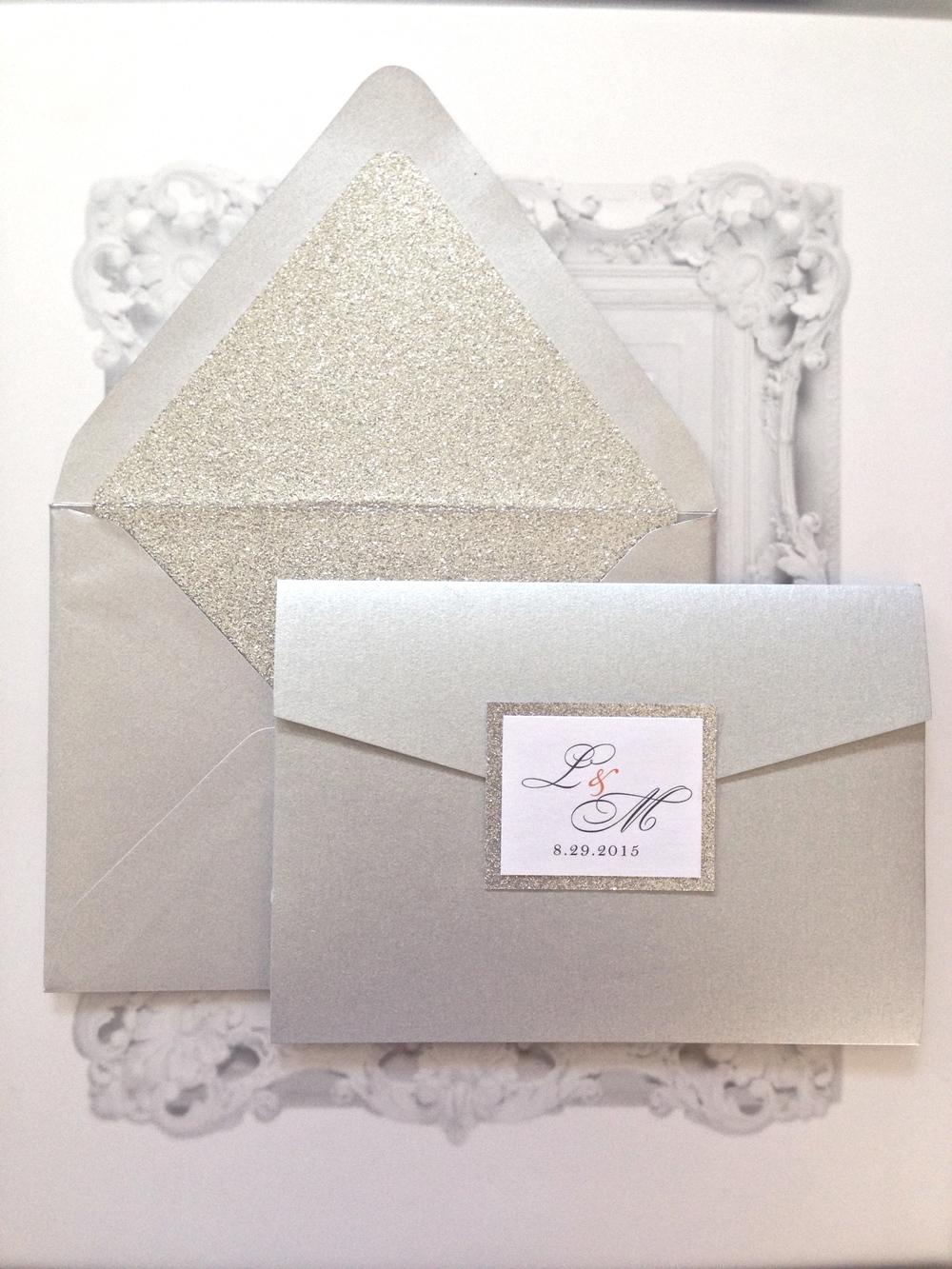 Lauren & Michael : Wedding Invitation