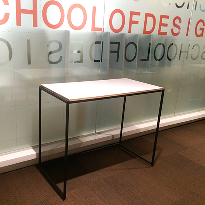 Desk Prototype for George Brown College, Designed by  Morpho-Synthesis