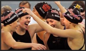 400 Freestyle Relay    Visitation – Emily Conners, Caroline Gaertner, Lorelei Gaertner, Abbie Dolan