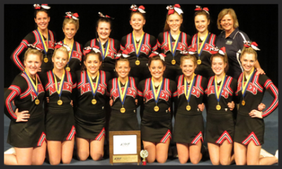 Class A Non-Tumbling 2 Champion - New Richland-Hartland-Ellendale-Geneva High School