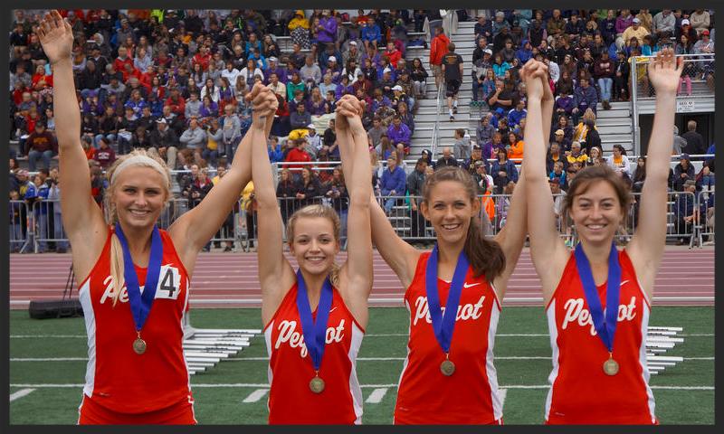 4X100 Meter Relay    Rachel Allen (Jr), Chloe Bermel (Fr), Sarah Rudlang (Sr), Vanessa Lane (Sr)    Pequot Lakes