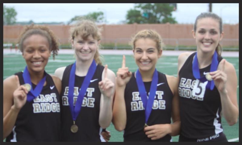 4X400 Meter Relay    East Ridge    Kiera Joiner (Sr), Kathleen Marcus (Jr), Brenley Goertzen (Jr), , Sandra Gramer (Sr)