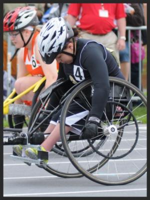 200 Meter Dash Wheelchair    Stacy Bates (Sr)    Andover