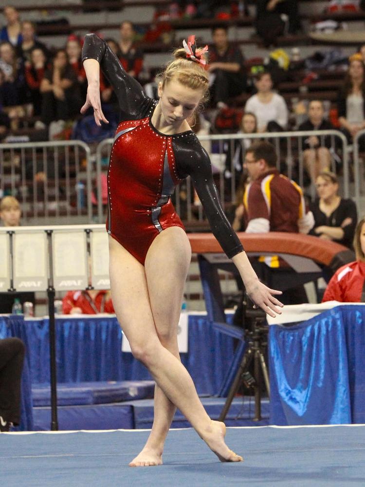 Floor Exercise    Hannah Wendel (Sr)    Alexandria