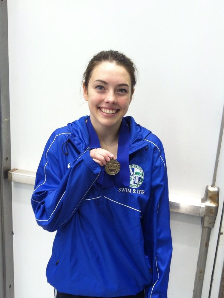 1 Meter Diving    Megan White 11    Blake/PA