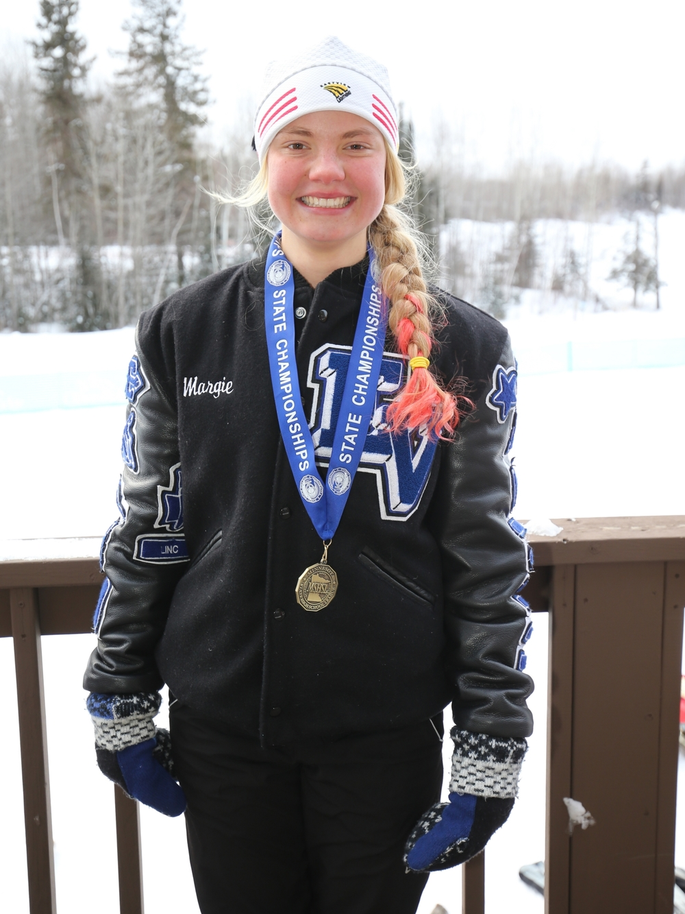 Girls Champion    Margie Freed (12th)    Eastview    Photo Credit:    MN Prep Photo
