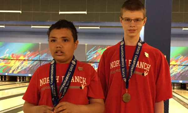 ASD Doubles Champions    Kevin Seekon & Logan Ricard    North Branch