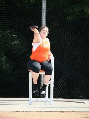 Discus Wheelchair    Miriam Probst (Jr)    White Bear Lake