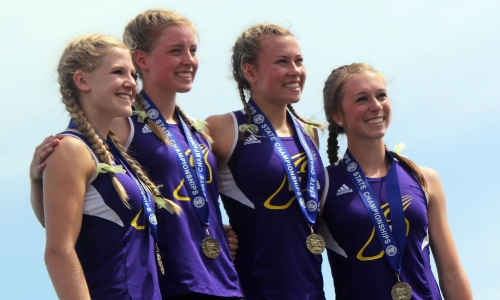 4X200 Meter Relay    Ally Marrs (Sr), Danielle Pioske (So), Madison Voigt (So) and Molly Reighard (Jr)    Waconia