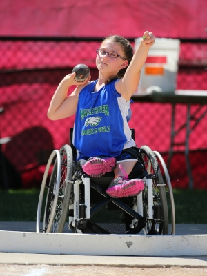 Shot Put Wheelchair    Lilly Stiernagle (8th)    Maple River