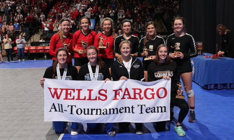 Class A All-Tournament Team   Photo Credit:  MN Prep Photo