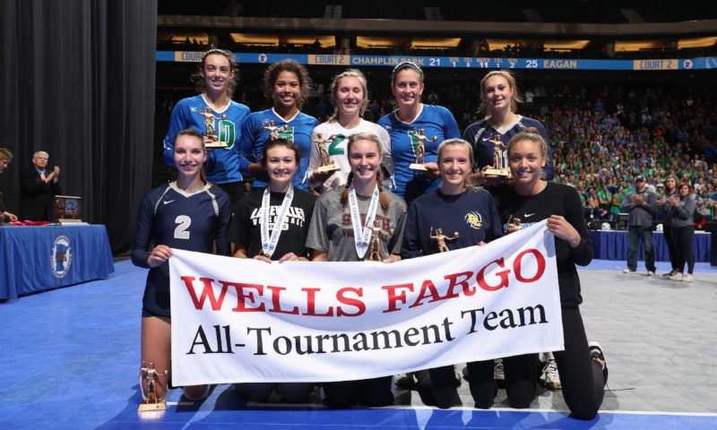 Class AAA All-Tournament Team   Photo Credit:  MN Prep Photo