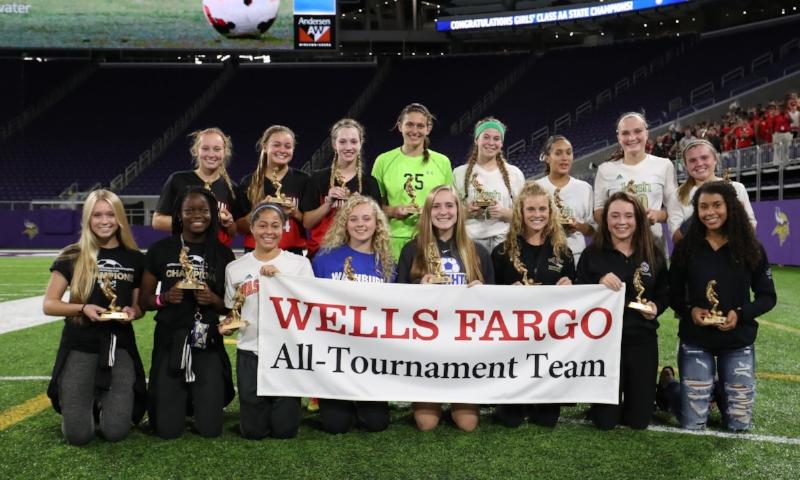 2016-17 Girls Class AA All-Tournament Team Photo Credit:MN Prep Photo
