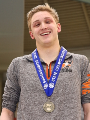 500 Freestyle Griffin Wolner (11)  Winona Photo credit: MN Prep Photo
