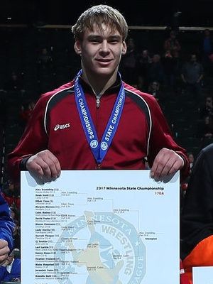Class A 170 Champion Alex Erpelding (12th) Staples-Motley Photo credit: MN Prep Photo