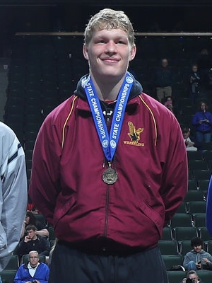 Class A 220 Champion Reid Seelhammer (12th) Dover-Eyota Photo credit: MN Prep Photo