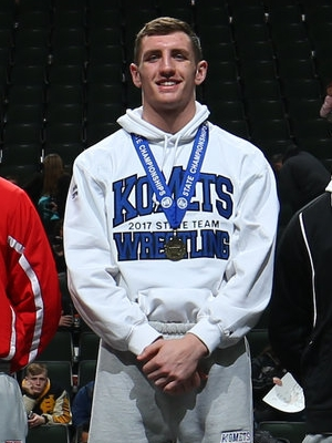 Class AA 220 Champion Noah Ryan (12th) Kasson-Mantorville Photo credit: MN Prep Photo