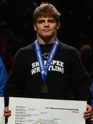 Class AAA 145 Champion Alex Lloyd (11th) Shakopee Photo credit: MN Prep Photo