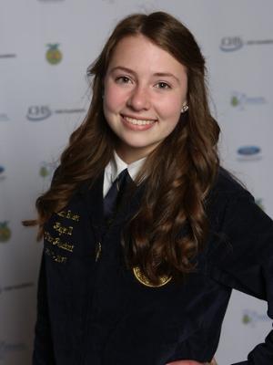 2017-18 State President Katie Benson Staples Motley