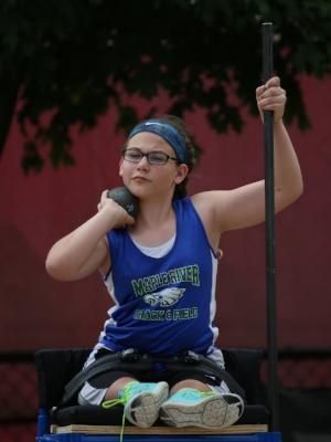 Shot Put Wheelchair    Lilly Stiernagle    Maple River