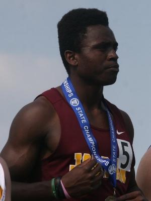 100 Meter Dash Marlon Wiley Jordan