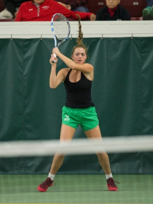 2017-18 Girls Class AA Singles Champion    Nicole Copeland (10)    Edina   Photo:  MN Prep Photo
