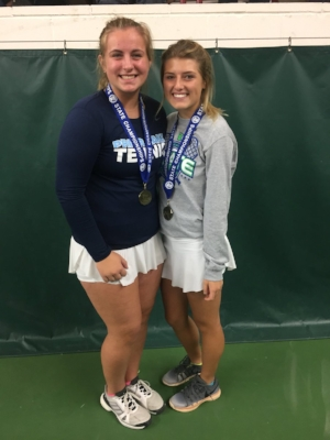 2017-18 Girls Class AA Doubles Champions    Charlotte Bowles (11) &  Taylor Jackson (12)    Prior Lake