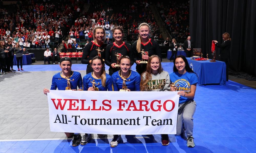Class A All-Tournament Team   Photo Credit:  MN Prep Photo