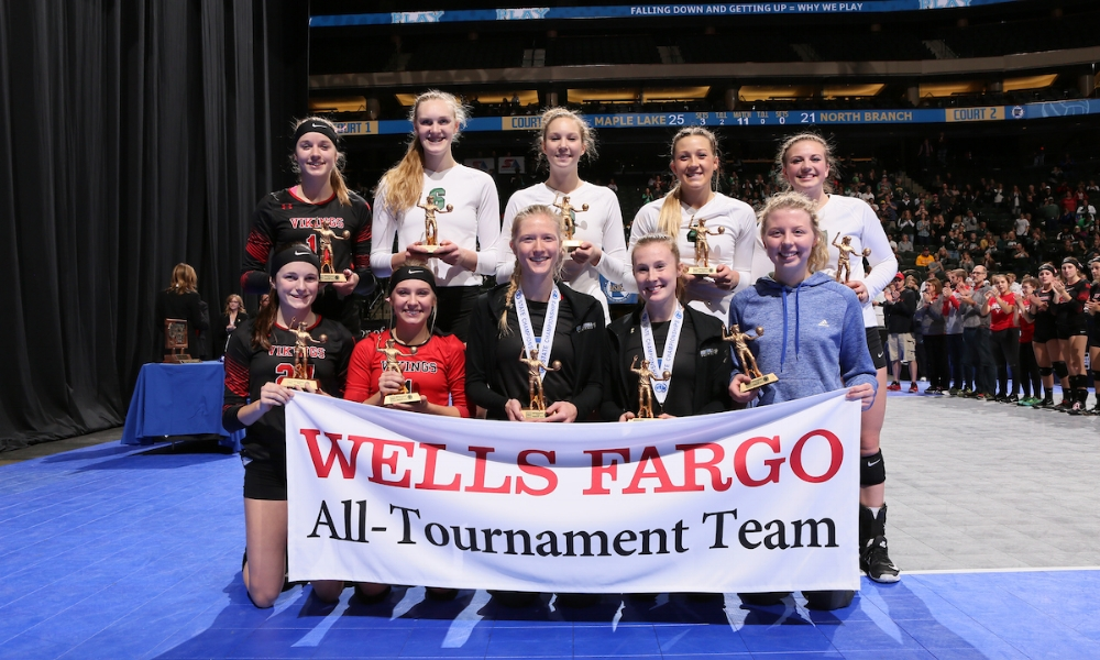 Class AA All-Tournament Team    Photo Credit:   MN Prep Photo