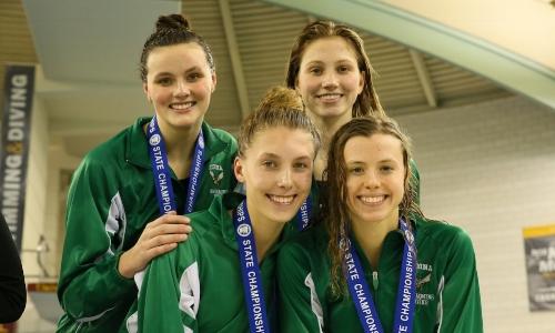 400 Freestyle Relay    Edina -Nora Clarkowski, Ashley Post, Kelli McCarthy, Raime Jones