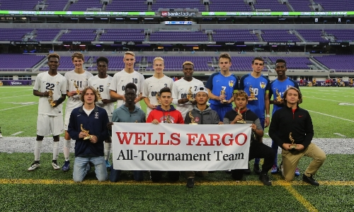 2017 Boys Class A All-Tournament Team    Photo Credit:   MN Prep Photo