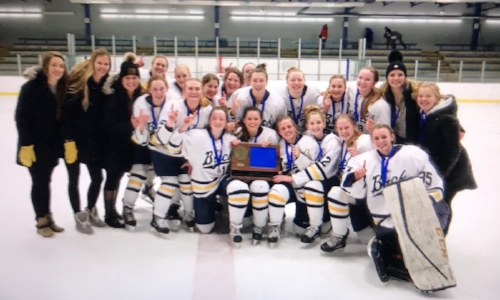 Breck | Section 5A Champion    Roster / Schedule / Results  | Website |  Media Guide    Athletics Twitter  |  School Twitter  | Students Twitter | Team FB |  School FB    Local Story  | QF: Breck 9  Marshall 2, SF: Breck 6  Proctor/Hermantown 0