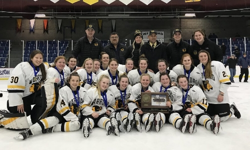 Warroad | Section 8A Champion    Roster / Schedule / Results  | Website |  Media Guide    Team Twitter  | School Twitter |  Hockeytown Twitter  |  Team FB  |  School FB   QF: Warroad 5  New Ulm 0, SF: Warroad 7  Alexnadria 1