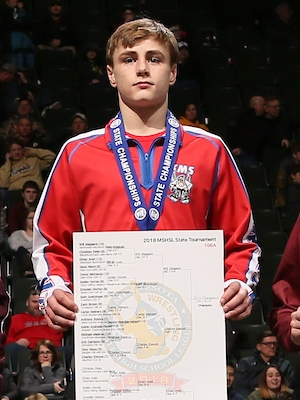 Class A 106 Champion    Will Magaard     Kerkhoven-Murdock-Sunburg    Photo credit:    MN Prep Photo