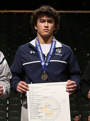 Class A 195 Champion    Dalton Wagner    Jackson County Central    Photo credit:    MN Prep Photo