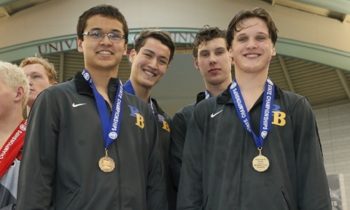 200 Medley Relay    Breck/Blake - Anderson Breazeale, James Pan, Spencer Pruett, Julian Frerichs