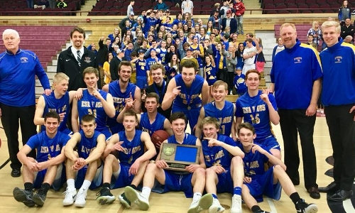 Esko | Section 7AA Champion    Roster / Schedule / Results  | Website |  Media Guide   Team Twitter |  School Twitter  |  Students Twitter  | Team FB |  School FB    Duluth News Tribune Story   CSF Result: Esko over Jordan 62-59