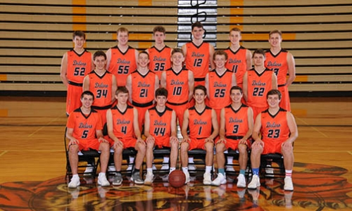 Delano | Section 5AAA Champion    Roster / Schedule / Results  | Website |  Media Guide   Team Twitter |  School Twitter  | Students Twitter | Team FB |  School FB    Delano Herald Journal Blog   QF Result: Delano over Mankato East 79-64, SF Result: Delano over Austin 80-68