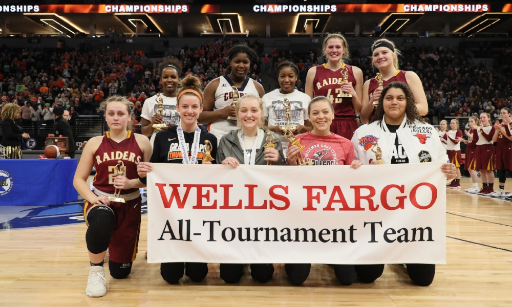 2017-18 Class AAA Girls Basketball All-Tournament Team  Photo credit:  MN Prep Photo