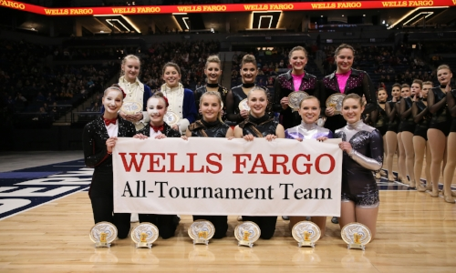 2017-18 Class A High Kick All-Tournament Team    Names of team Members:    Photo Credit:  MN Prep Photo