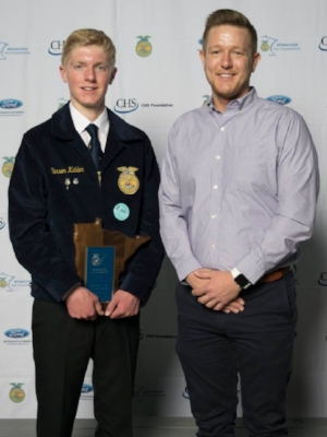 Agricultural Sales Entrepreneurship    Carson Kahler    Martin County West    Sponsored by: West Central, Inc.