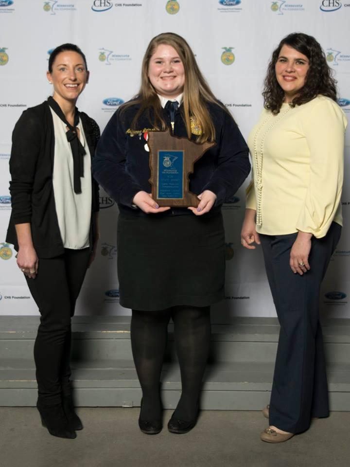 Swine Production Entrepreneurship    Adrienne Lipinski    Eden Valley-Watkins    Sponsored by: Christensen Farms