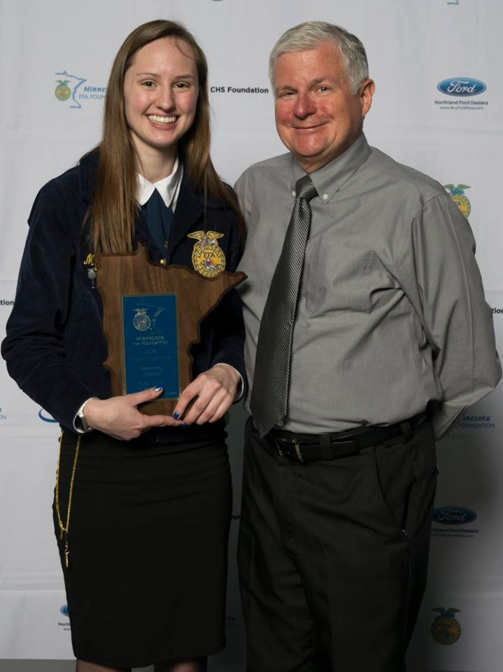 Veterinary Science    Mya Ulrich    Waseca    Sponsored by: MN Veterinary Medical Foundation