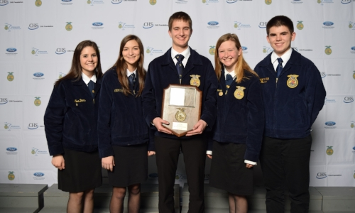 Best Informed Greenhand    Howard Lake-Waverly-Winsted FFA Chapter    Sponsor: ACH Seeds