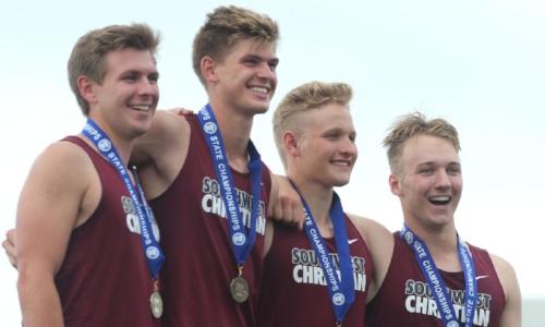 2017-18 MN Track & Field    4X100 Meter Relay    Southwest Christian    Isaiah Colman, Josiah Colman, Alexander DuMoulin, Zachary Ertel