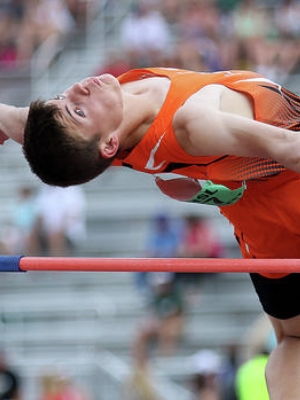 2017-18 MN Track & Field    High Jump    Ethan Heitman    Lake City