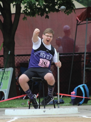Shot Put Wheelchair    Ben Mathiowetz    New Ulm