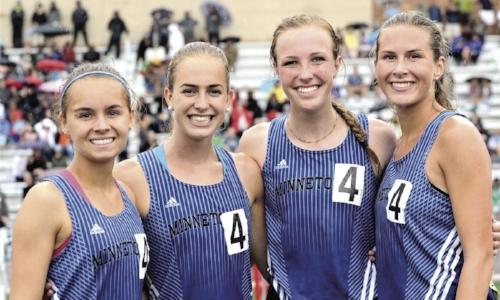 4X400 Meter Relay    Minnetonka    Emma Harrison, Grace Hoelscher, Erin Shoemaker, Libby Halbmaier